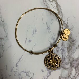 Alex and Ani compass bangle